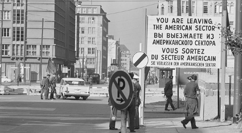 Americká zóna v rozděleném Berlíně. Foto Thomas O'Halloran/Library of Cogress