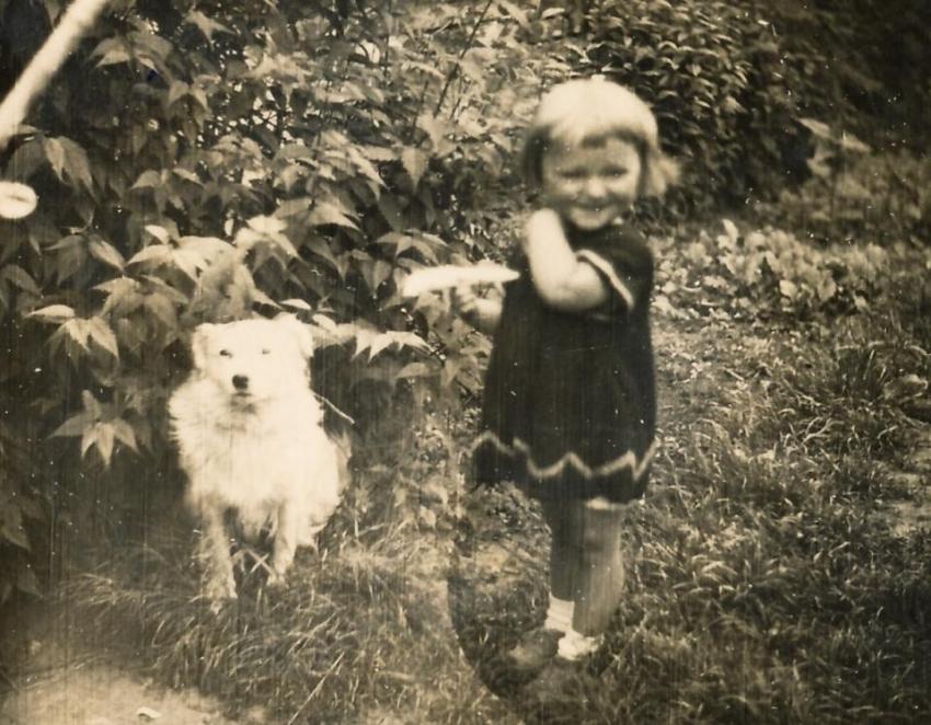 Jiřina Čechová asi v roce 1939