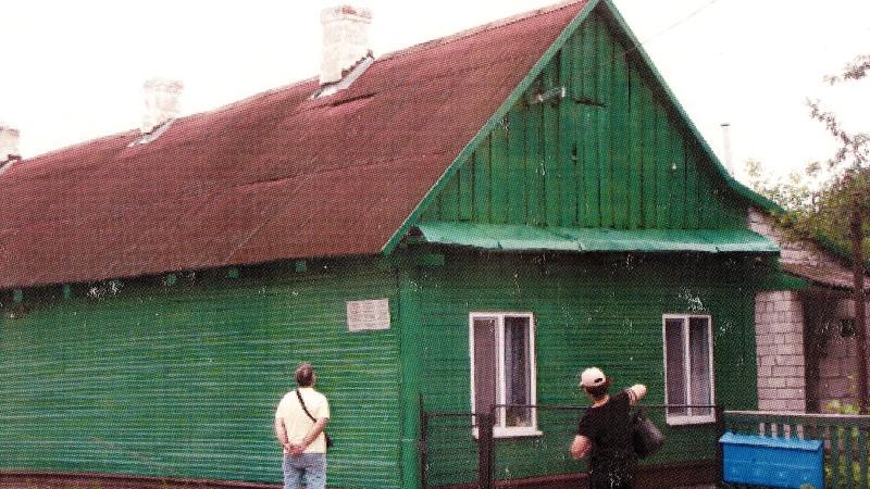Dům rodiny Friedmanových v Pružanech. Foto: Paměť národa