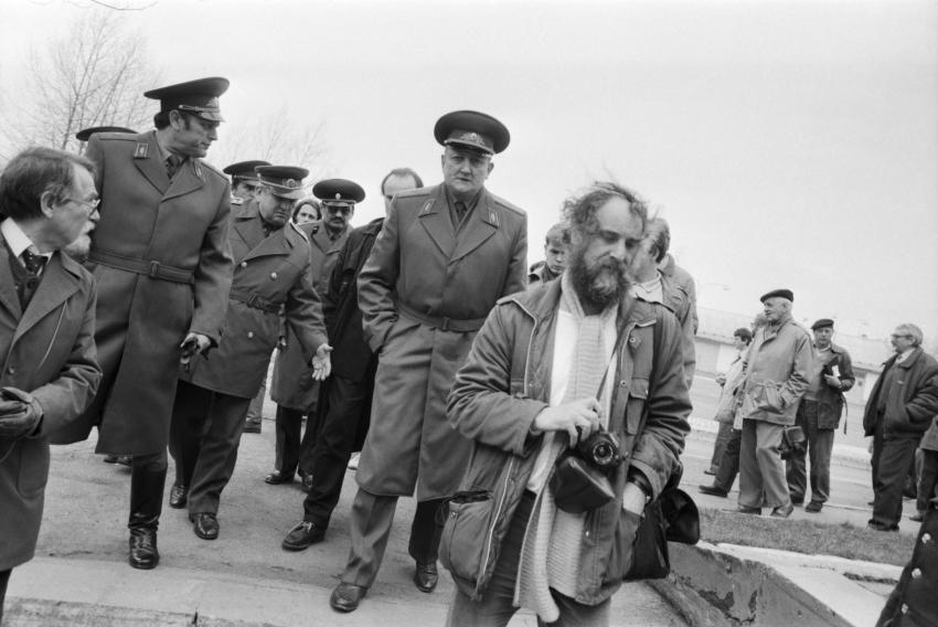 Jindřich Štreit, duben 1990,. Foto: archiv Jindřicha Štreita