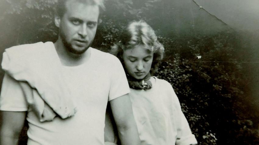 Dana Foukalová (tehdy Krejčí) s Petrem Holubářem.