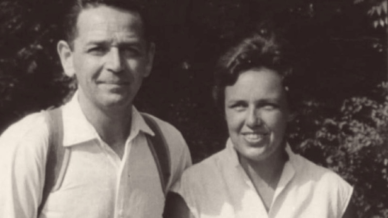 Richard Glazar s manželkou Zdenou v 50. letech. Foto: archív Pavly Glazarové-Fröhlich