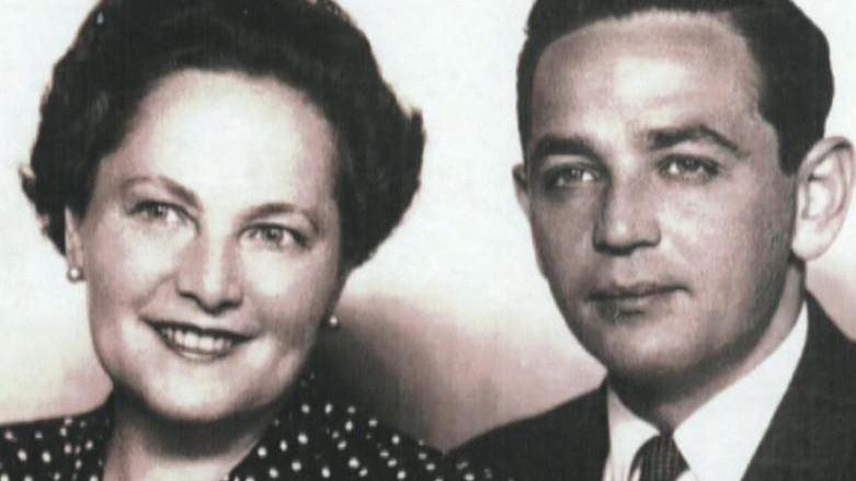 Richard Glazar s maminkou po válce. Foto: archív Pavly Glazarové-Fröhlich