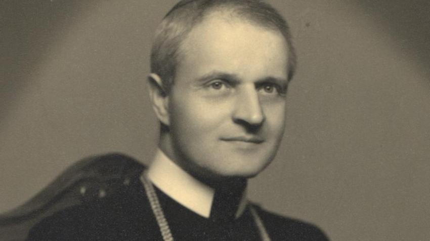 Řeckokatolický biskup Pavol Peter Gojdič zemřel v roce 1960 ve věznici v Leopoldově. Foto Wikimedia Commons CC BY-SA 3.0, Misko3