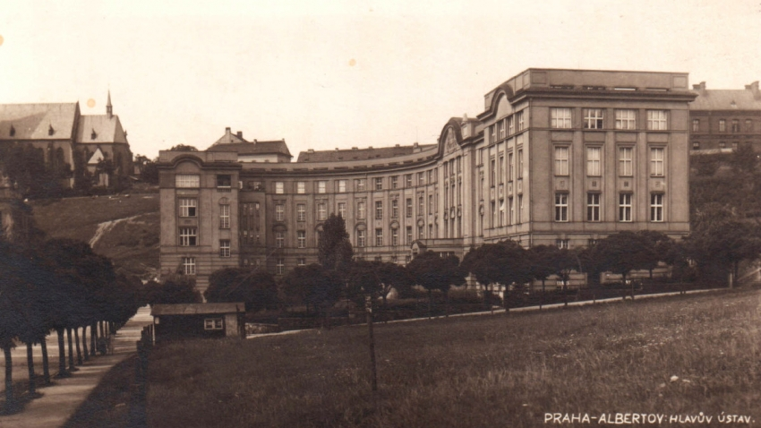 Hlavův ústav, kde Květoslava vyrůstala.