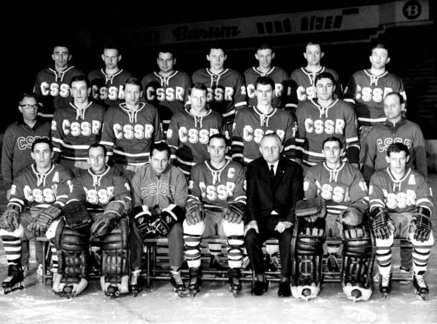 Jan Havel (v horní řadě uprostřed) na mistrovství světa 1967 ve Vídni.