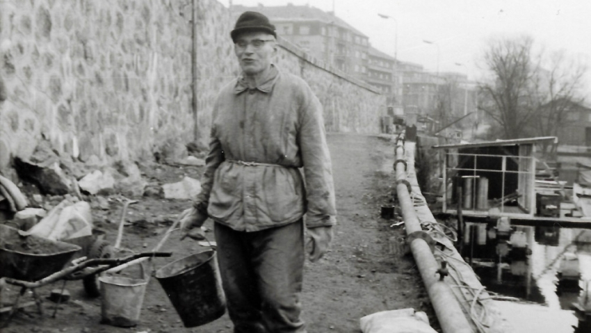 Po nuceném odchodu z armády pracoval Jan Plovajko v dělnických profesích. Foto: Paměť národa