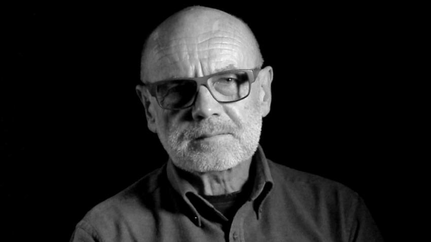 Jan Ruml při natáčení pro Paměť národa.