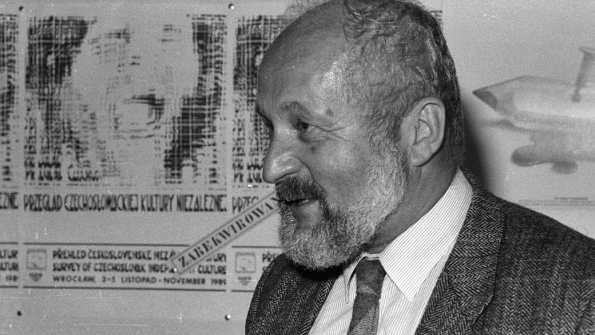 František Janouch ve Wrocławi. Foto NAF Dementi