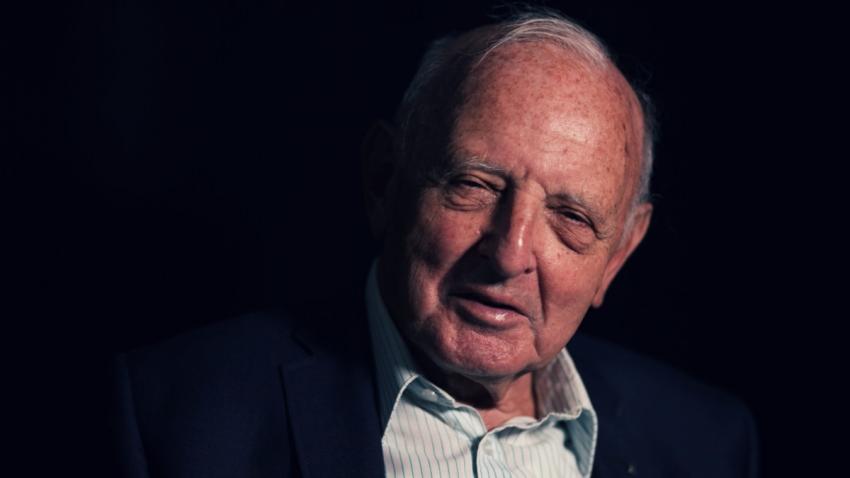 Pavel Jelínek při natáčení pro Paměť národa v roce 2019. Foto: Post Bellum