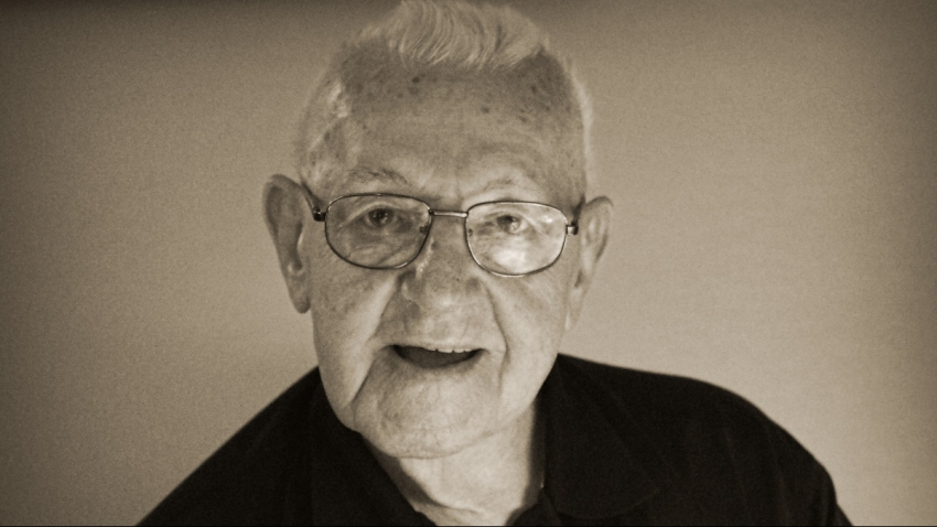Karel Hrubý v současnosti. Je mu 97 let a stále se zajímá o dění. Foto: Paměť národa