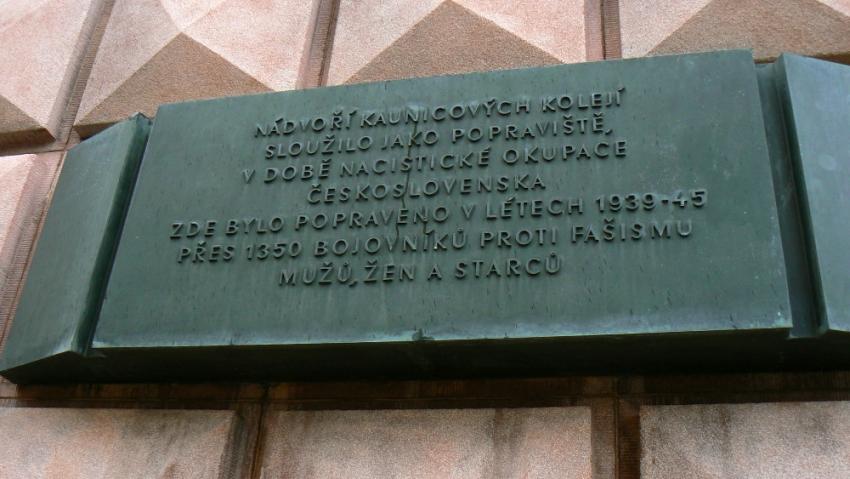 Po válce se role obrátily. V Kounicových kolejích umírali Němci. Foto: Teresa Babková