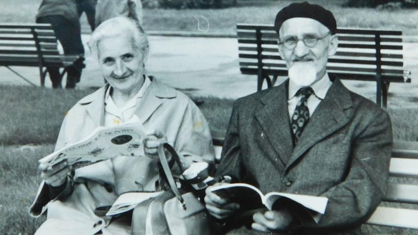 Ludmila a Jaroslav Knápkovi měli podle jich syna krásné manželství. Foto: Paměť národa