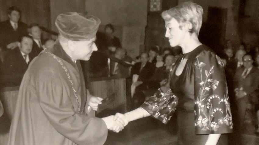 Marie Königová získala v roce 1980 titul CSc.