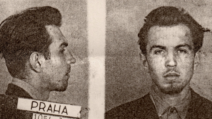 Miroslav Kopt po zatčení v roce 1954.