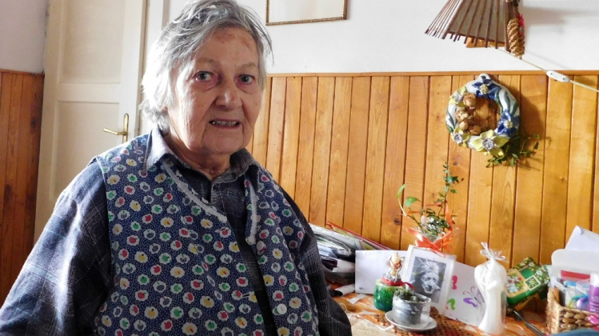 Paní Bartoňová v roce 2016. Foto: Vít Lucuk