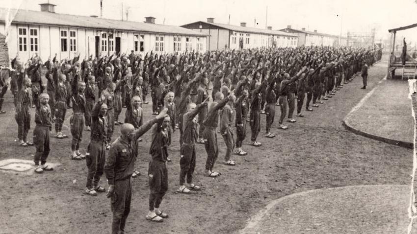 """Nacistický koncentrační tábor Mauthausen nedaleko Lince byl táborem pro nenapravitelné politické protivníky Říše. Češi sem byli deportování na příkaz   Reinharda Heydricha, podle něhož hrál Mauthausen """"zvláštní úlohu při decimování českého hnutí odporu."""" Foto: Mauthausen Memorial, Collection Antonio García, S 4665"""