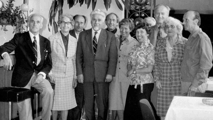 Setkání s Fratiškem Fajtlem u Lepaříkových v květnu 1976. Foto: Paměť národa