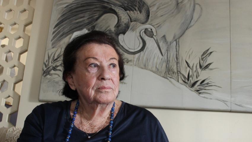 Ruth Federmann v roce 2014. Foto Hynek Moravec