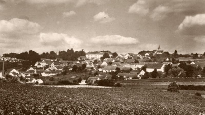 Staré Hobzí před válkou. Foto: Wikimedia Commons