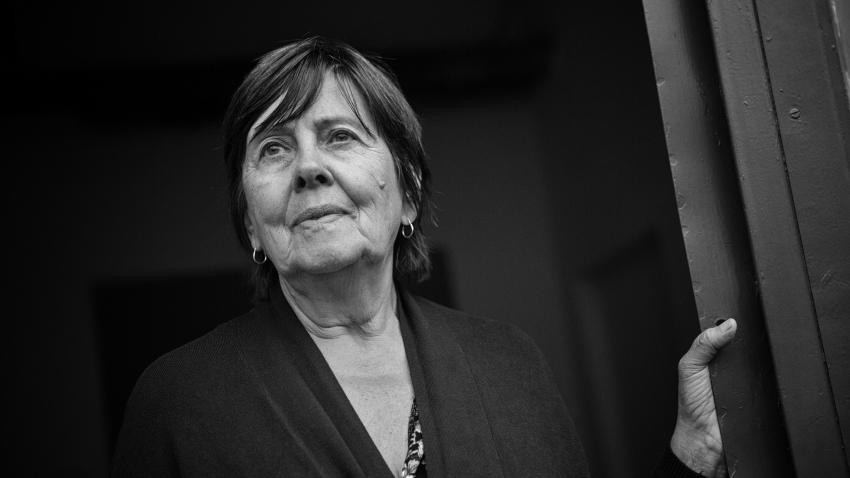 Socioložka Věra Doušová pomáhala na přání prezidenta Havla s přesídlením volyňských Čechů z okolí Černobylu. Foto: Lukáš Žentel