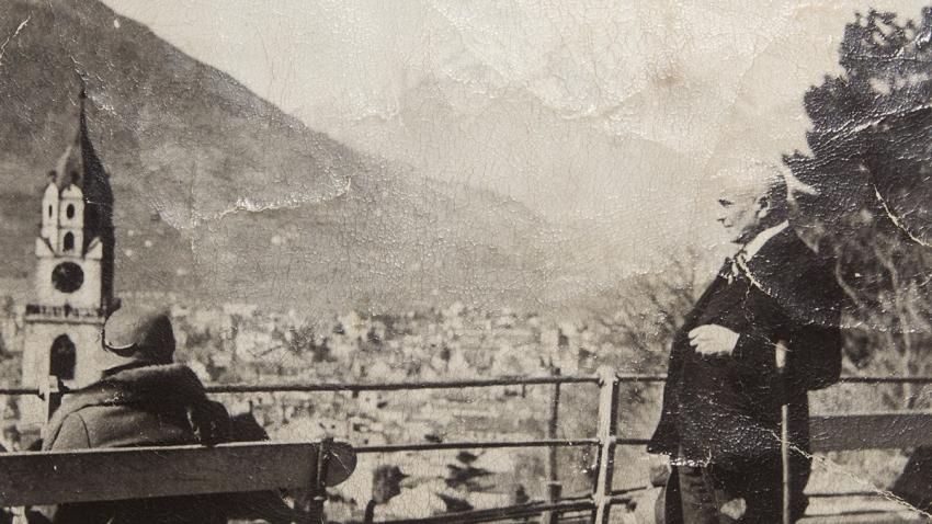 Jediná fotografie Brigitina otce Viléma Steina z Karlových Var.