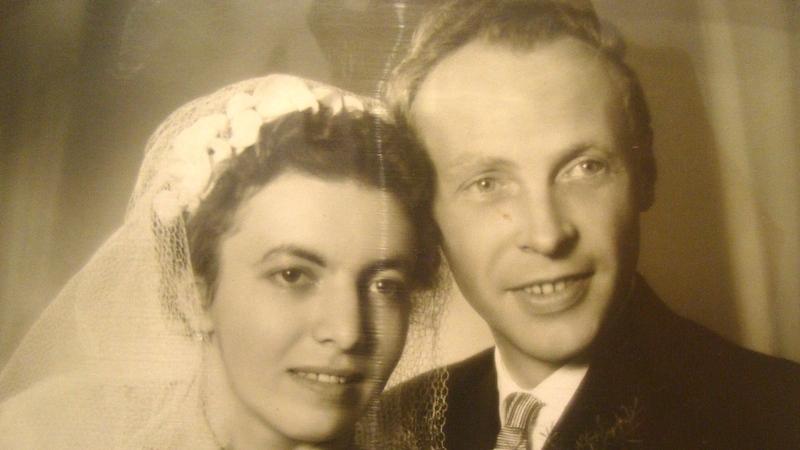 Svatební fotografie Eduarda Zimmela. Foto: Paměť národa