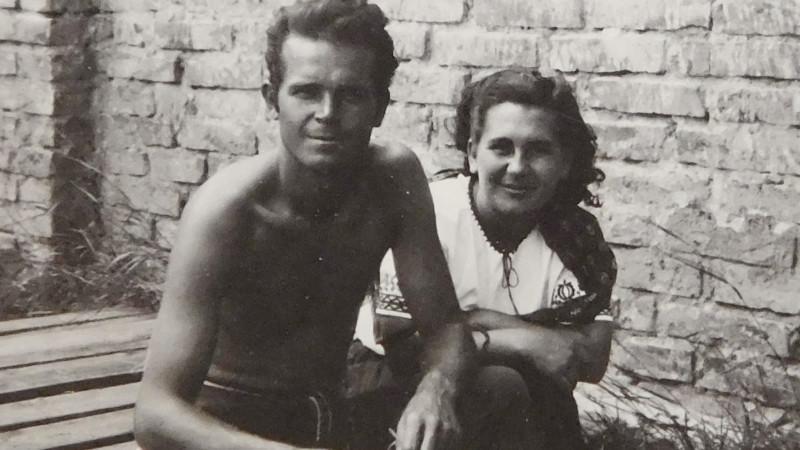 Václav a Ludmila Švédovi v roce 1948.