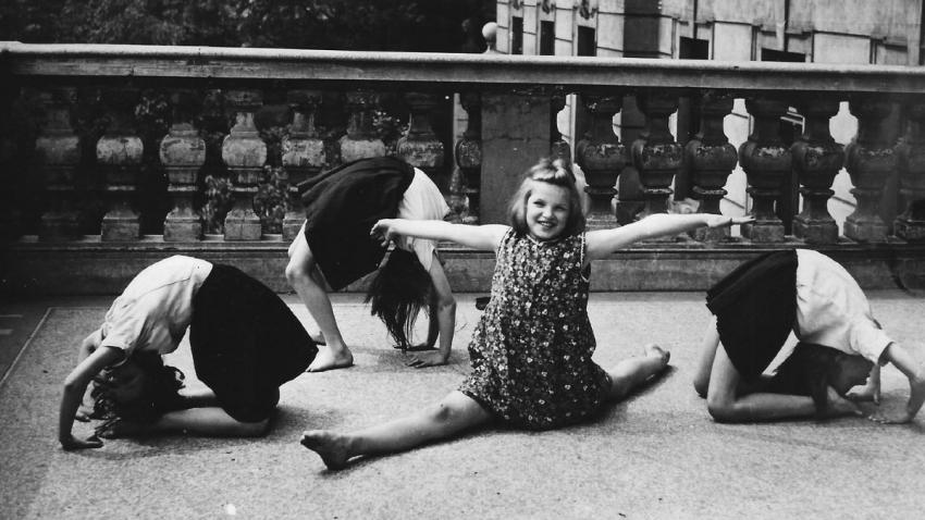 Taneční kroužek Mobi Urbanové.