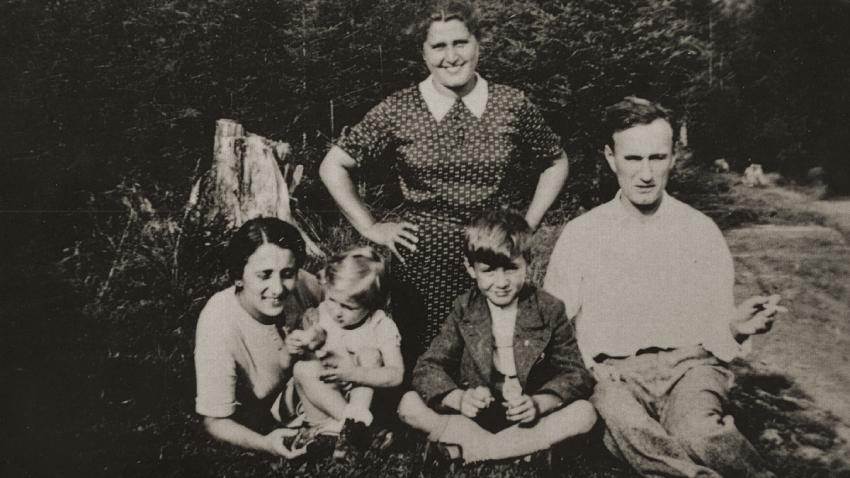 Rodina Tejčkova před válkou.