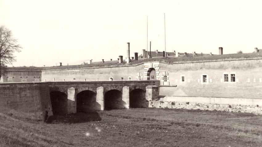 Terezín po válce. Foto: Karel Šanda