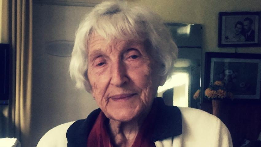 Sedmadevadesátiletá Věra Suchopárová v červenci 2020. Foto: Rostislav Šíma