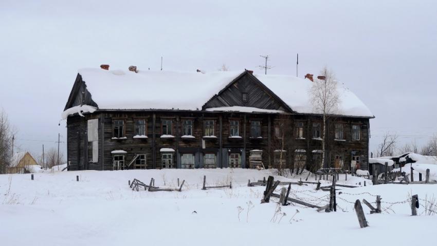 Vazební věznice č. 1 v Pečorlagu, poslední dobová památka gulagu v Pečoře. Foto: Adam Hradilek, ÚSTR