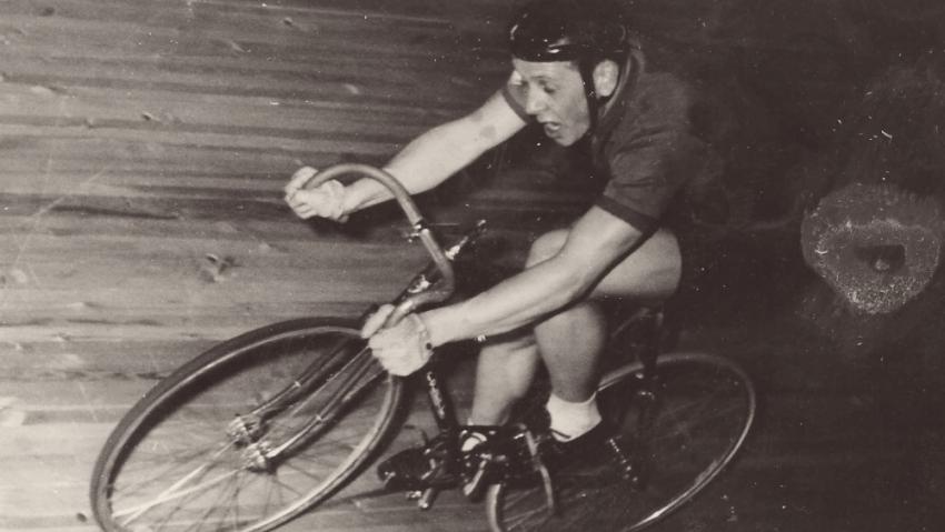 Na závodech v Berlíně v roce 1962.