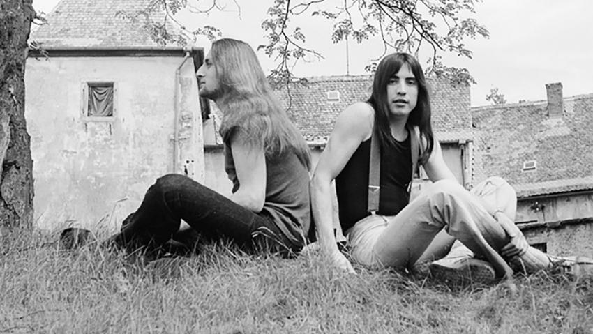 Pavel Zajíček (vlevo) a Mejla Hlavsa v roce 1973. Foto: Ivo Pospíšil