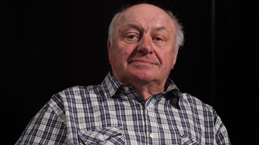 Zdeněk Brom při natáčení pro Paměť národa. Foto: Post Bellum