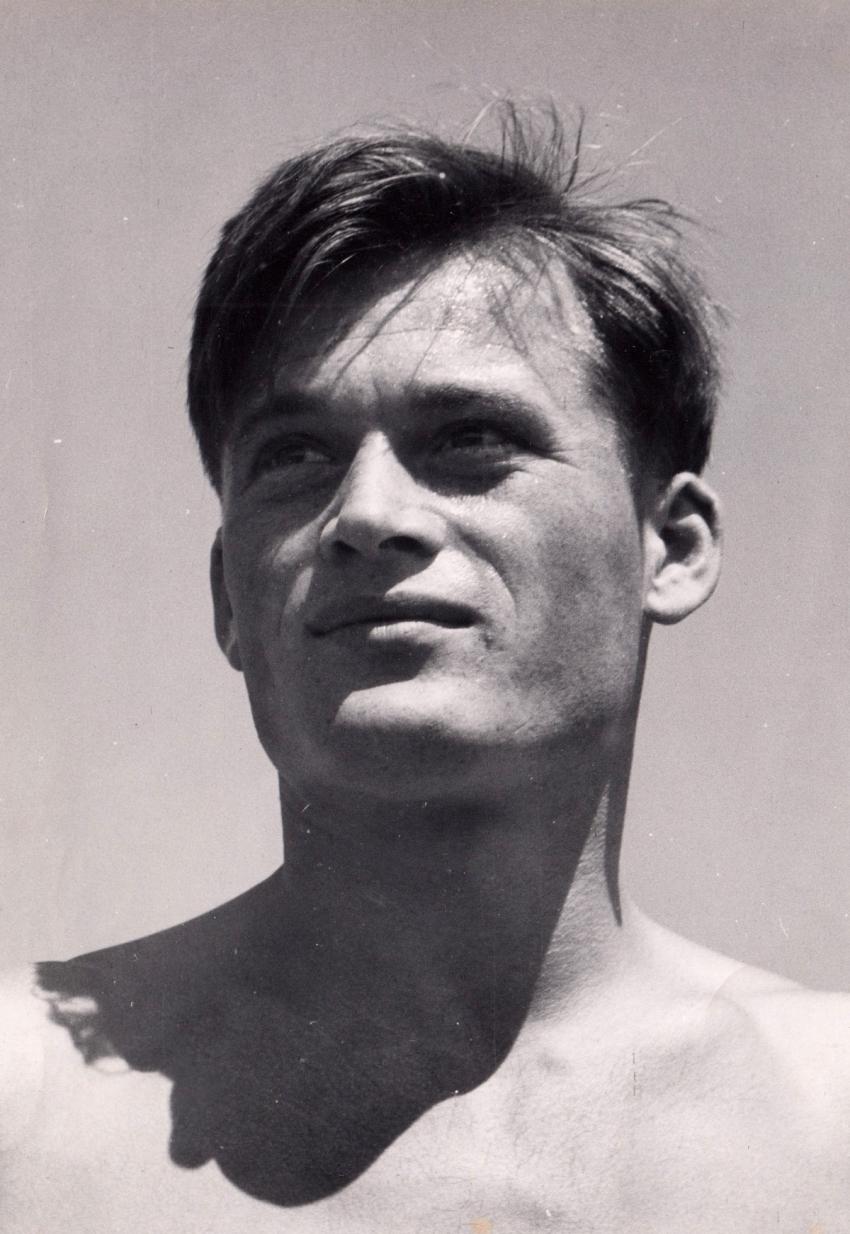 Zdeněk Růžička na přelomu 40. a 50. let 20. století.zdroj: archiv Zdeňka Růžičky