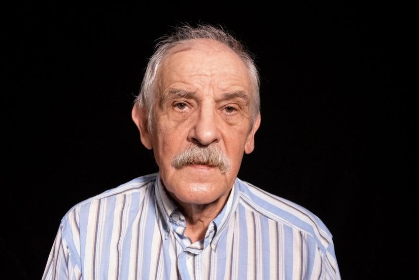 Zdzislaw Bykowski při natáčení pro Paměť národa