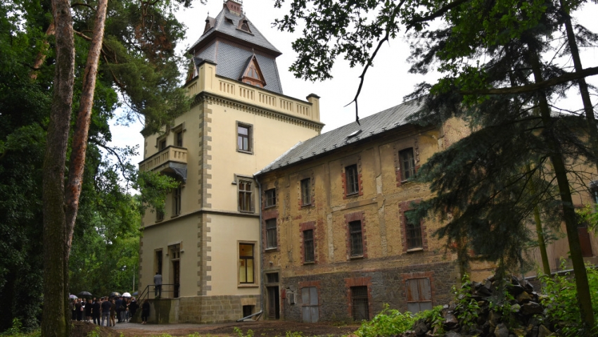 Zrekonstruovaná věž Zámečku. Foto:Tomáš Vlach