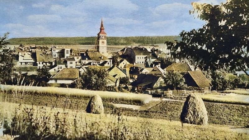 Dobruška v roce 1960.
