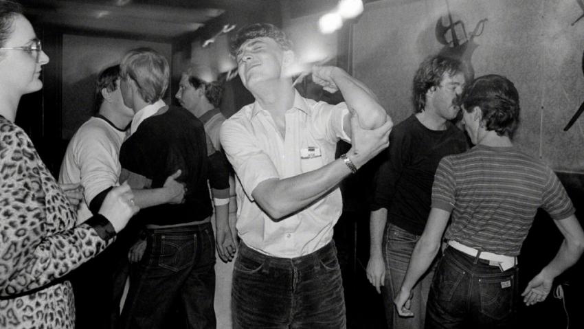 Diskotéka v Téčku, kde Libuše Jarcovjáková fotila v letech 1983–85. Foto: Libuše Jarcovjáková