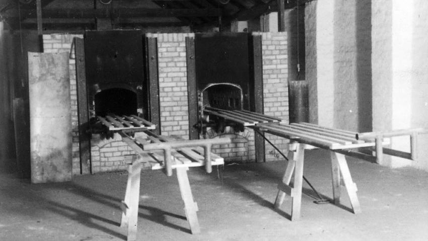 Krematorium v Terezíněi. Foto: Karel Šanda