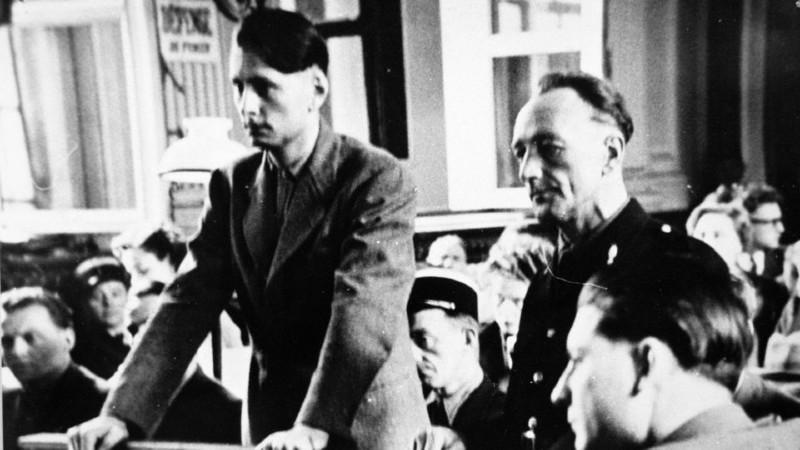 Walter Hauck u francouzského soudu v Lille roku 1949. Foto: L'Express