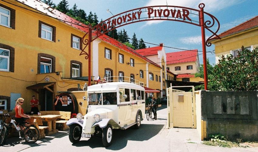 Rožnovský pivovar dnes. V jeho obnovu Vladimír Fassmann už nevěřil. Foto: Rožnovský pivovar