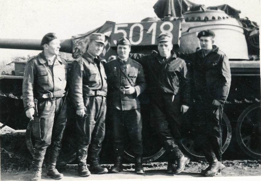 Polští tankisté v Československu 
