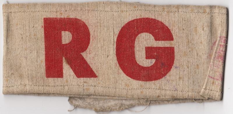 Páska Revoluční gardy. Foto: Paměť národa