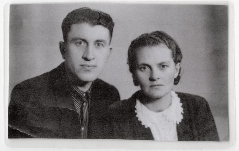 Rodiče Tajisija a Oleksandr Olisevyčovi. Zdroj: archiv Alika Olisevyče