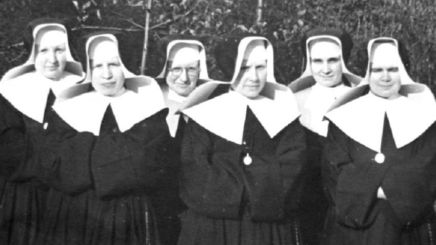 Sestry boromejky. Foto: Paměť národa/archív Heleny Richardis Novákové
