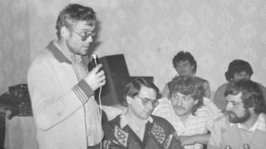 Vladimír Špidla v listopadu 1989. Foto: Paměť národa