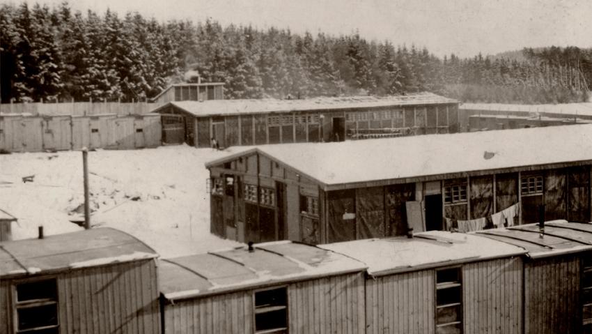 Koncentrační tábor v Letech u Písku. Foto: Holocaust.cz